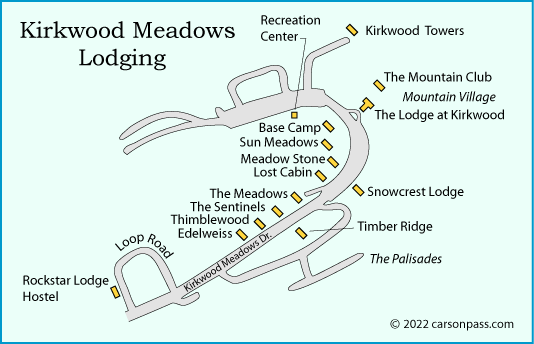 Lodging at Kirkwood Ski Resort on kirkwood resort mt, kirkwood resort cap, kirkwood resort overview, kirkwood resort lodging, flat corral kirkwood ca map, kirkwood trail map, kirkwood ski map, kirkwood school map, kirkwood park map, kirkwood resort sign, kirkwood mountain map,